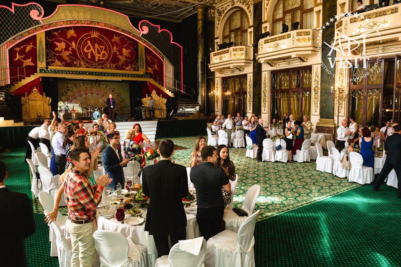 Организация юбилея в ресторане ЯР - Event агентство АРТВИЗИТ